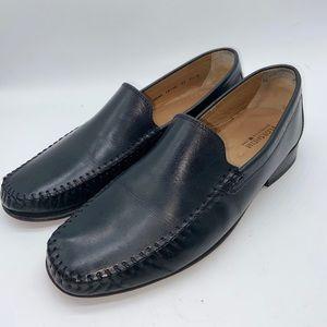 Florsheim Men's Loafers Slip On Black Leather Shoe